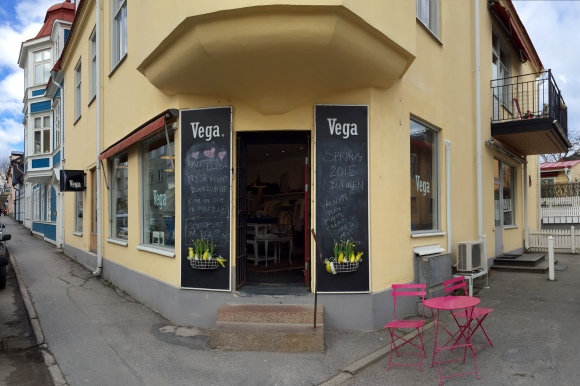 Vega outside